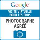 Liste photographe agréé Google en, France, visite virtuelle pour les pros.